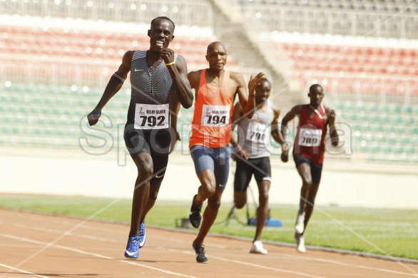ATHLETICS KENYA  3rd RELAY SERIES