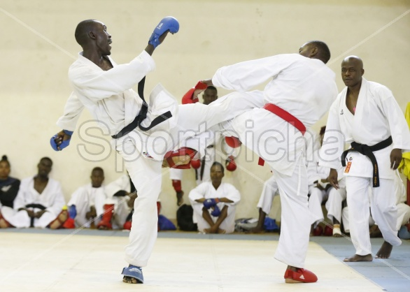KENYA KARATE TEAM TRAINING FOR ALL AFRICAN GAMES