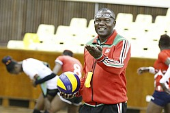 VOLLEYBALL TEAM TRAIN FOR ALL AFRICAN GAMES QUALIFIERS