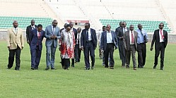 NYAYO NATIONAL STADIUM INSPECTION