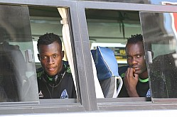GOR MAHIA JETS IN DAR ES SALAAM FOR MATCH AGAINST EVERTON
