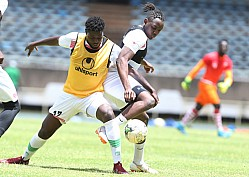 HARAMBEE STARS TRAINING FOR GHANA AFCON QUALIFIER