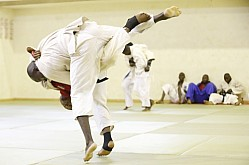 KENYA JUDO TEAM TRAINING FOR ALL AFRICAN GAMES