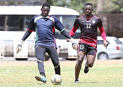 HARAMBEE STARS TRAIN FOR FRIENDLY MATCH AGAINST UGANDA AND DRC CONGO
