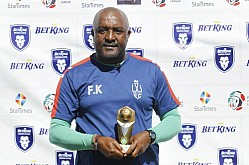 FRANCIS KIMANZI : JANUARY FKF PL COACH OF THE MONTH