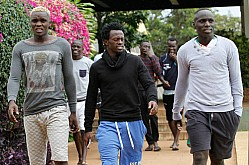 Harambee Stars players camp ahead of Cape Verde 2018 Pre-World Cup qualifier