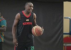 Basketball Team Morans training for FIBA AfroBasket 2021 Qualifiers in Kigali
