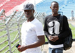 Harambee Stars train at Nyayo National stadium ahead of Cape Verde 2018 Pre-World Cup qualifier